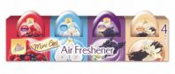 Pan Aroma Air Freshener Mini Gel - 4 Pack